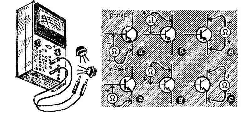 Проверка транзисторов